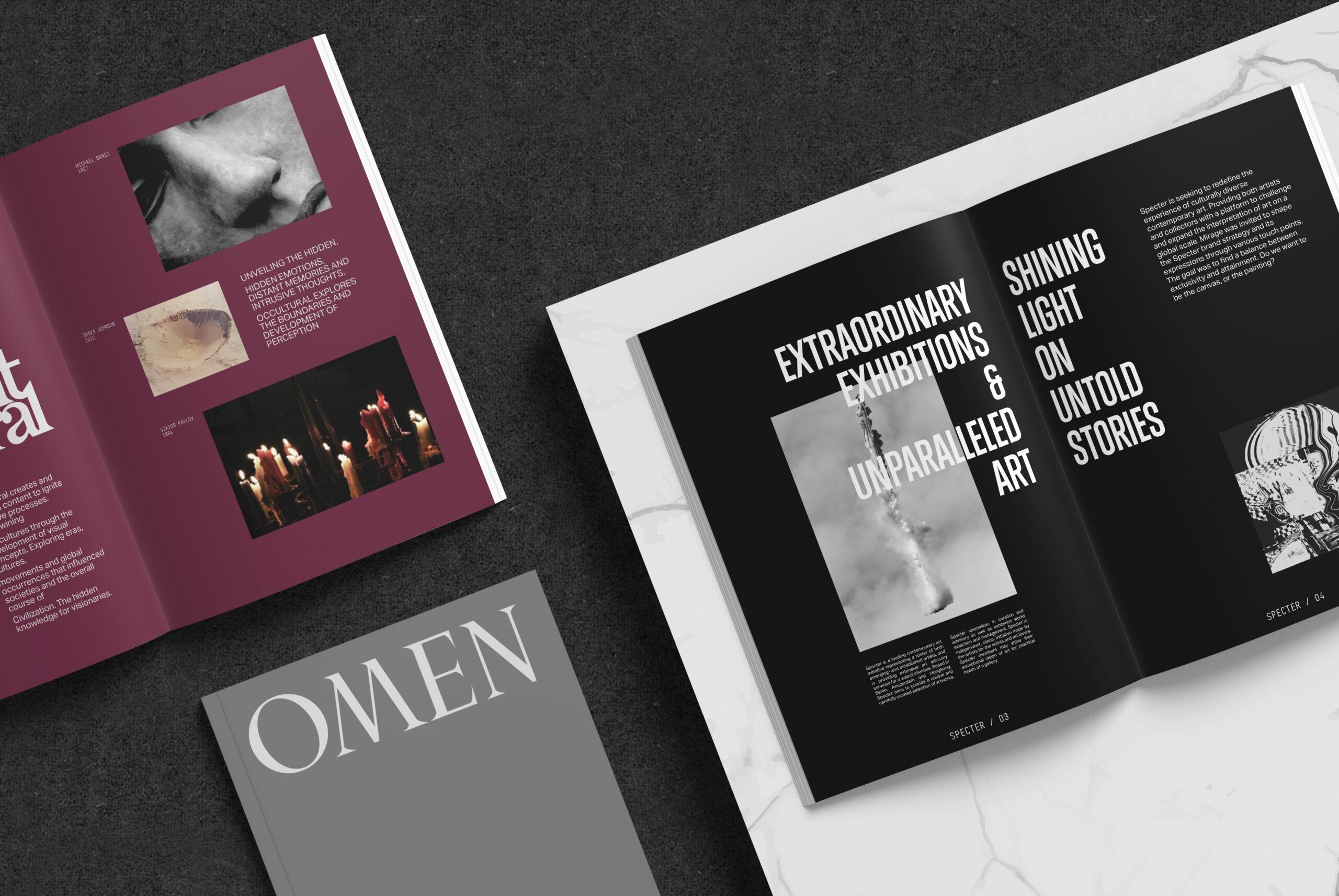 Omen Enterprises Books Mirage